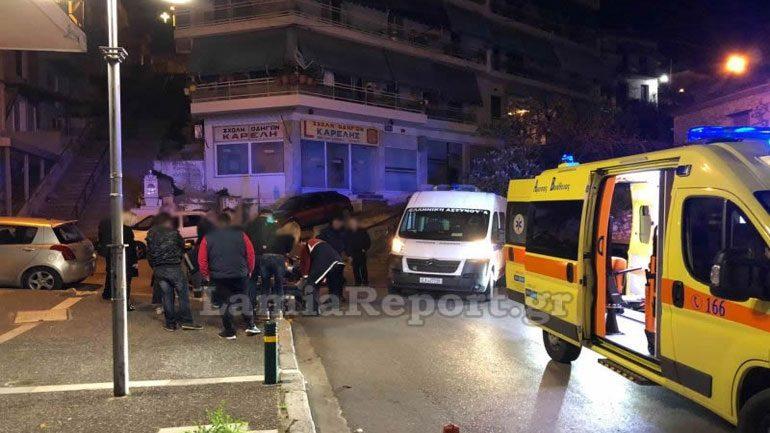 Λαμία: Τροχαίο με μηχανή στο κέντρο της πόλης