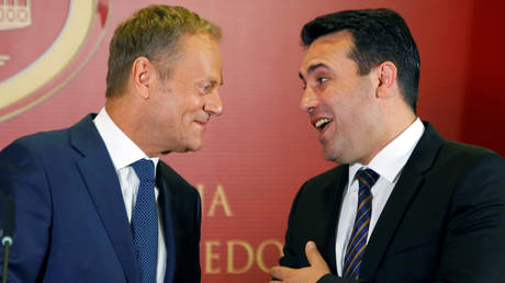 «Η επίλυση του ονοματολογικού ανοίγει τις πόρτες για ΕΕ και ΝΑΤΟ»  (pics)