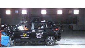 «Πεντάστερο» το Nissan Leaf στις νέες δοκιμές ασφαλείας (vid)