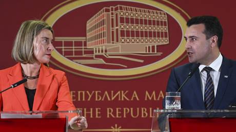 Αισιοδοξία Ζάεφ-Μογκερίνι για το ονοματολογικό (pics)