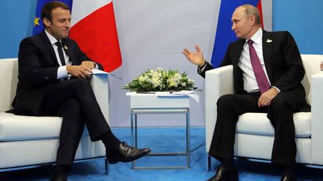 Επικοινωνία Πούτιν – Μακρόν για Συρία και Ιράν