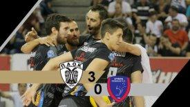 Εύκολα ο ΠΑΟΚ 3-0 τον Φοίνικα Σύρου