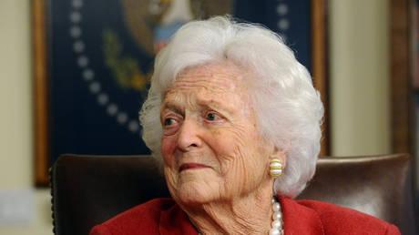 ΗΠΑ: Ραγδαία επιδείνωση παρουσιάζει η υγεία της Μπάρμπαρα Μπους