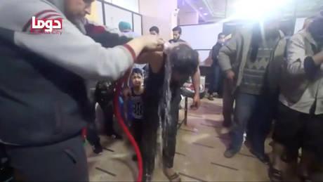 ΗΠΑ: Χλώριο και αέριο σαρίν χρησιμοποίησαν οι δυνάμεις του Άσαντ στη Ντούμα