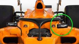 Καθρέπτες πάνω στο halo για τα μονοθέσια της F1