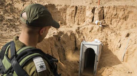 Καταστράφηκε η μεγαλύτερη σήραγγα που ένωνε τη Λωρίδα της Γάζας με το Ισραήλ (pics)