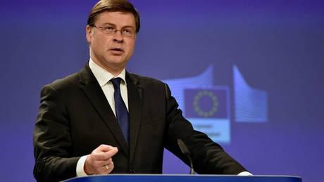 Ντομπρόβσκις: Καλά τα νέα για την Ελλάδα