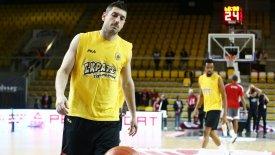 Ξανθόπουλος: «Πολύ καλή ομάδα η Μούρθια»