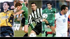 Oι καλύτεροι Ελληνες ποδοσφαιριστές στις εκτελέσεις φάουλ! (vids)