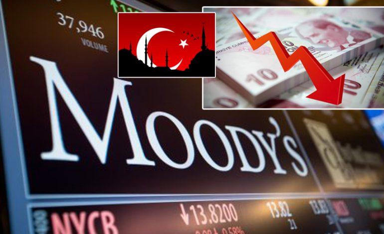 Νέο «χαστούκι» από Moody's σε Τουρκία