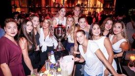 Ολυμπιακός: Το γλέντι των κοριτσιών του πόλο! (pics & vids)