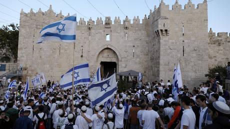 Eορταστικές εκδηλώσεις στο Ισραήλ για τη μεταφορά της αμερικανικής πρεσβείας στην Ιερουσαλήμ (pics)