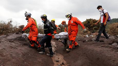 Έκρηξη Φουέγο: Τερματίστηκαν οι έρευνες για τους 197 αγνοούμενους