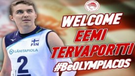 Ανακοίνωσε τον διεθνή Φινλανδό Τερβαπόρτι ο Ολυμπιακός