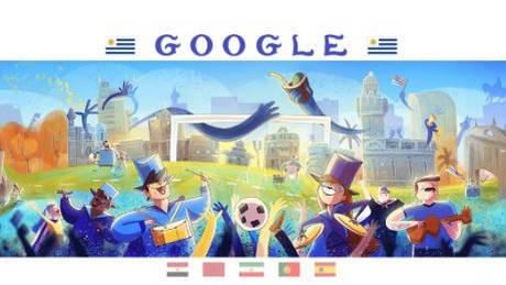 Αφιερωμένο στη δεύτερη μέρα του Μουντιάλ το Doodle της Google