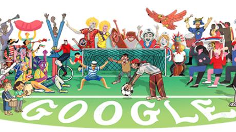 Αφιερωμένο στο Παγκόσμιο Κύπελλο Ποδοσφαίρου το Doodle της Google
