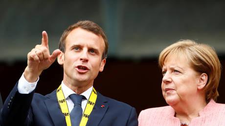 Μεταρρύθμιση της ευρωζώνης και μεταναστευτικό στην ατζέντα της συνάντησης Μέρκελ – Μακρόν