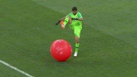 Ο Αλισον της Βραζιλίας έπαιξε μεγάλη μπάλα (vid)