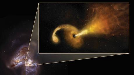 Τι συμβαίνει όταν μια μαύρη τρύπα καταστρέφει ένα αστέρι (vid)