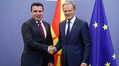 Τουσκ: Παράδειγμα για την επίλυση διαφωνιών η συμφωνία Αθήνας-Σκοπίων