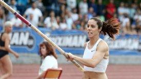 H Στεφανίδη πέρασε τα 4,60 στη Φιλοθέη