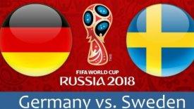 LIVE: Γερμανία – Σουηδία