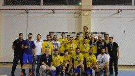 O Aρης Νικαίας κατέκτησε το Κύπελλο ΕΣΧΑ Ανδρών
