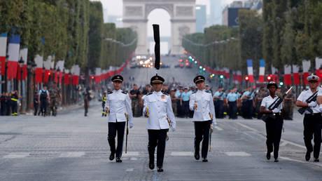 Γαλλία: Με στρατιωτική παρέλαση γιορτάζεται η Ημέρα της Βαστίλης