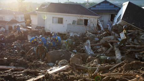 Ιαπωνία:Τραγικός ο απολογισμός της κακοκαιρίας – Στους 199 οι νεκροί, τουλάχιστον 60 οι αγνοούμενοι