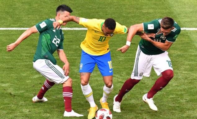 Ο Νεϊμάρ έκανε το 1-0 για την Βραζιλία (vid)