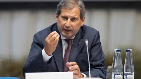 Περίεργη δήλωση Χαν για «αλλαγή συνόρων Ελλάδας – Αλβανίας»