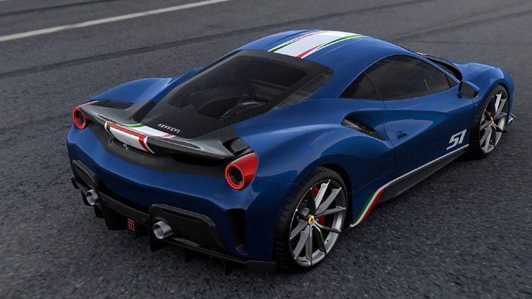 Τα χρώματα της Ferrari 488 Pista Piloti