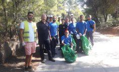 Πραγματοποιήθηκε την Κυριακή 15/07 η δράση καθαρισμού του Δάσους Φασίδερη