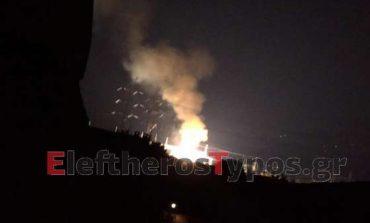 Περίεργη σιωπή για τις εκρήξεις σε πυλώνες της ΔΕΗ στο Κρυονέρι