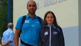 Έφτασε μέχρι την πρώτη 16άδα η Γκαϊντατζή στο Euro Mini Table Tennis Championships
