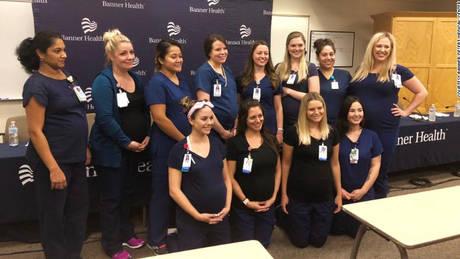 Αριζόνα: 16 νοσηλεύτριες έμειναν σχεδόν ταυτόχρονα… έγκυες