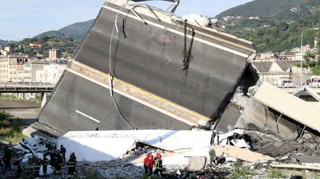 Γένοβα: Αγνοούνται ακόμη πέντε άτομα μετά την κατάρρευση
