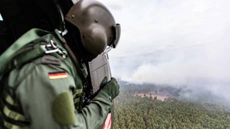 Γερμανία: Περιορίστηκε η μεγάλη πυρκαγιά, παραμένει ο κίνδυνος αναζωπύρωσης