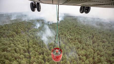 Γερμανία: Υποψίες εμπρησμού για την πυρκαγιά στο Πότσδαμ