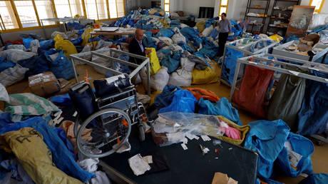 Δυτική Όχθη: 10 τόνοι δεμάτων θα παραδοθούν μετά από 8 χρόνια καθυστέρησης από το Ισραήλ (pics)
