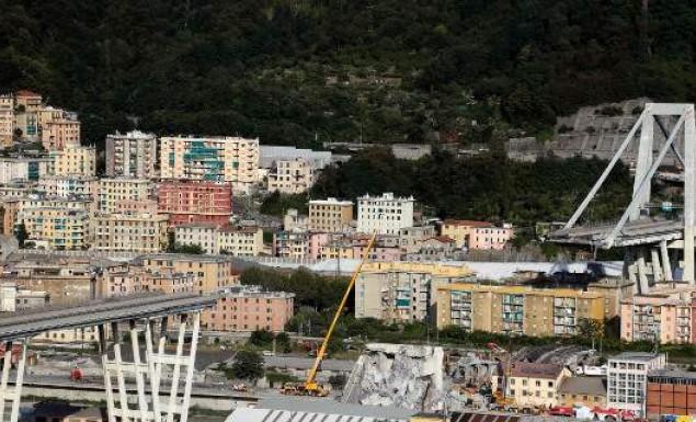 Η διαχειρίστρια εταιρεία της γέφυρας στη Γένοβα προσφέρει 500 εκατ. δολάρια στην πόλη