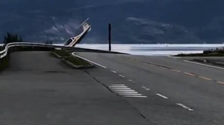Η στιγμή της προσγείωσης μικρού αεροσκάφους που… πήγε λάθος (vid)
