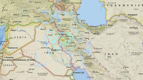 Ισχυρός σεισμός 6,1 Ρίχτερ στο Ιράν