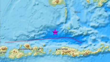 Ισχυρός σεισμός 6,5 Ρίχτερ «χτύπησε» την Ινδονησία