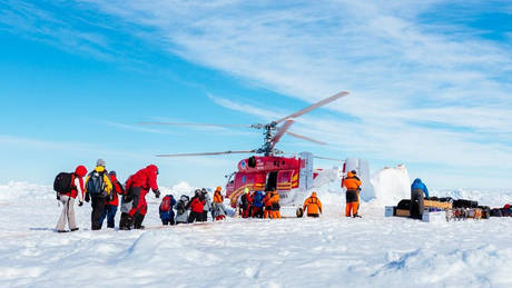 Και όμως, η Ανταρκτική έχει Πυροσβεστική Υπηρεσία!