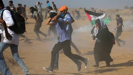 Λωρίδα της Γάζας: Νεκροί και εκατοντάδες τραυματίες σε ταραχές στα σύνορα (pics)