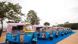 Με ηλιακή ενέργεια τα ηλεκτρικά τρίκυκλα της ΙΚΕΑ στην Ινδία