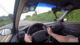 Να τι συμβαίνει αν «κουμπώσεις» την όπισθεν με 65 χλμ./ώρα! (vid)