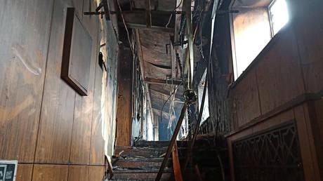 Νεκροί από πυρκαγιά σε ξενοδοχείο της Κίνας (pics&vid)