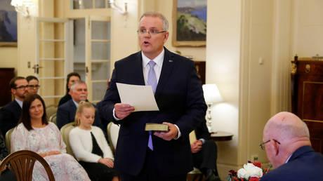 Ορκίστηκε ο νέος πρωθυπουργός της Αυστραλίας (pics)